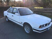 BMW 520I SE 1990cc Petrol 5 speed manual 4 door saloon J Reg 03/01/1992 White