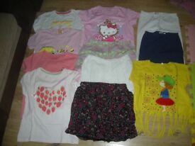 Lovely bundle of girl clothes X11 items age 8-9 year ( inc Mother care, M&Co, M&S and Next )