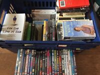 Carboot joblot books/DVDs
