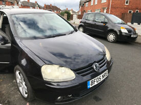 VW GOLF FSI 3DOOR BLACK BREAKING