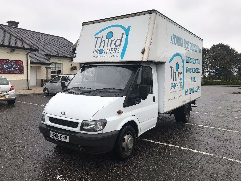 2006 ford transit luton van lwb with double rear axle long mot low mileage