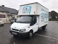 2006 FORD TRANSIT LUTON VAN LWB WITH DOUBLE REAR AXLE-LONG MOT-LOW MILEAGE-VERY GOOD CONDITION