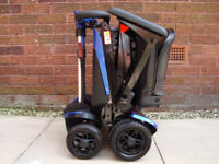 SOLAX SMARTIE TRANSFORMER PORTABLE MOBILITY SCOOTER.CAR BOOT AUTOMATIC.TRANSPORTABLE SCOOTER