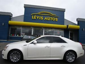 2010 Cadillac CTS AWD BLANC PERLE PERFORMANCE COLLECTION CUIR TO