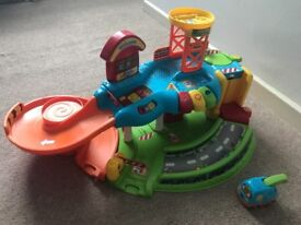 Vtech toot toot garage with tow truck