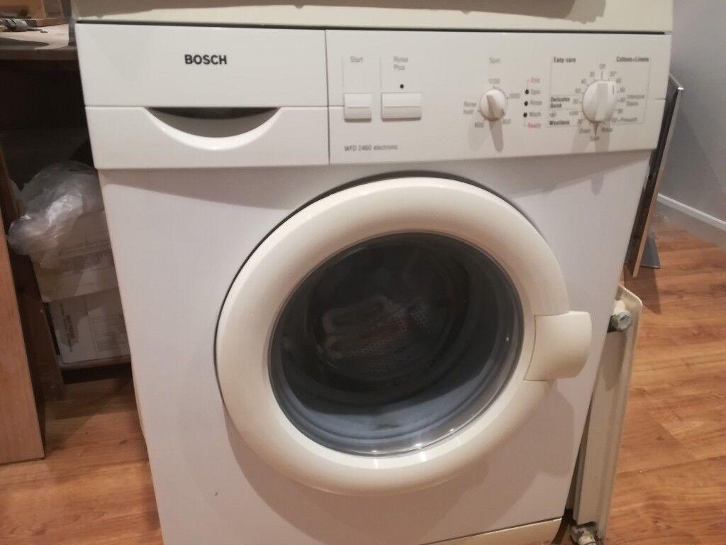 Bosch Washing Machine Fully Working Original Manuals In Bow