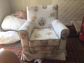 Peter Rabbit arm chair