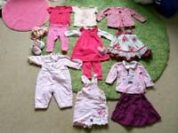 6-9 months baby girl summer clothes bundle