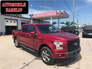 2016 Ford F-150 Lariat gps toit back up trailer