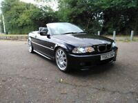 Stunning BMW M sport E46 - 330ci - Convertible - LPG converted - Full service History - Automatic
