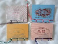 4 MINI Books for Health Message& Yoga&Xue Wei & Jing Luo