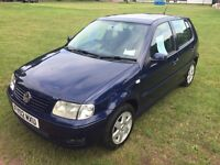 Volkswagen Polo, 2002, 1.4 SE, with Air Con.