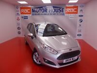 Ford Fiesta ZETEC TDCI (£0.00 ROAD TAX) FREE MOT'S AS LONG AS YOU OWN THE CAR!!! (silver) 2014