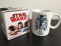 Disney Star Wars R2D2 mug, by Primark, white mug, R2tea2.
