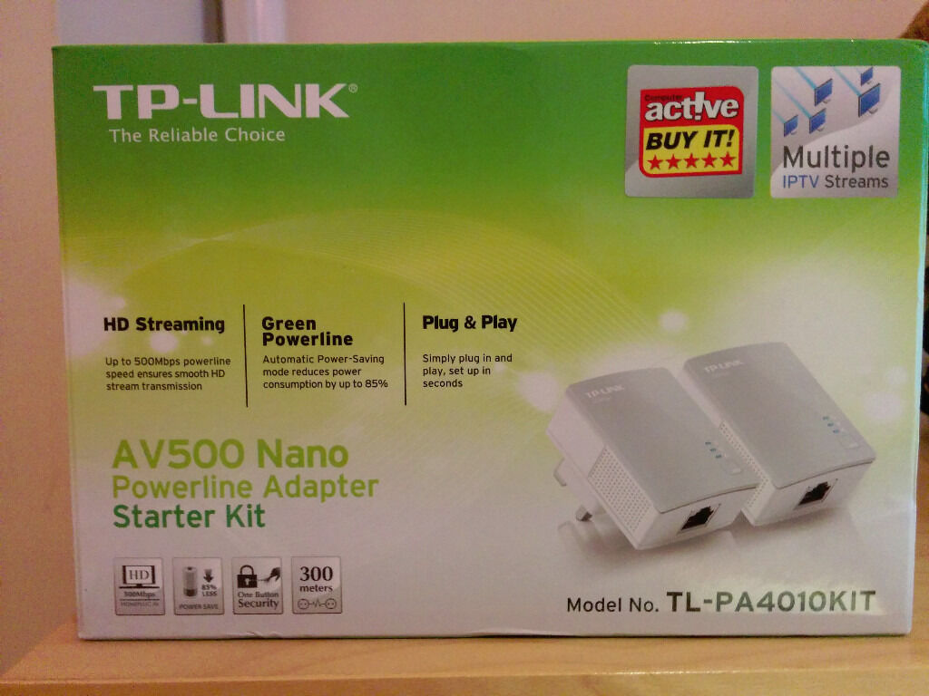 TP-LINK AV500 Nano Powerline Adaptors