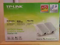 TP-LINK AV500 Nano Powerline Adaptors