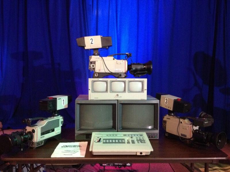 3 Sony Camera production system