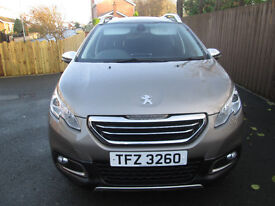 2014 Peugeot 2008 in Excellent Condition (low Mileage)