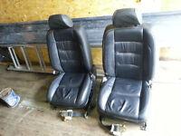 MINT Electric Leather front Seats Lexus GS300 VW Camper Hot Rod etc