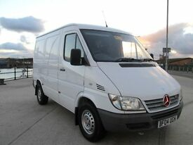 MERCEDES SPRINTER 221 CDI 89,000 MILES NO V.A.T. EXCEPTIONALY CLEAN CONDITION