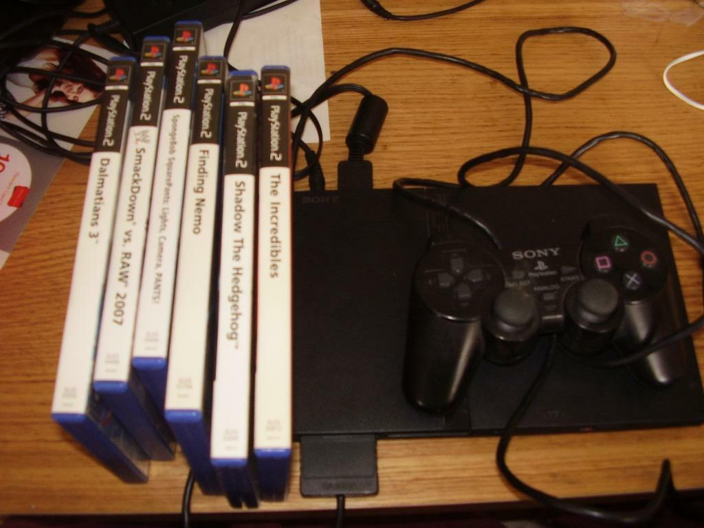 Playstation 2 Slimline With Games In Denaby Main South