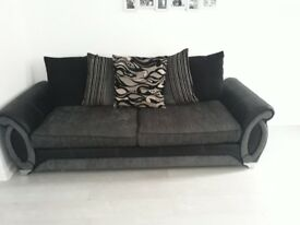 4 seater sofa and corner sofa