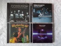 4 x CD's - MOTORHEAD, HAWKWIND, DEEP PURPLE &MY GUITAR GENTLY WEEPS