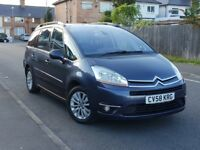 2008 58 CITROEN C4 GRAND PICASSO 2.0 DIESEL*94K*SEMI-AUTO.7 SEATER*FULL MOT.ALLOY WHEEL*GOOD RUNNER