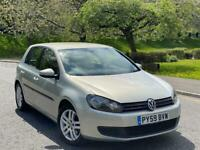 2009(59) Volkswagen Golf 1.6 TDI SE Fully Loaded Low mileage Full Service History 2 Keys