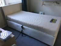 Single electric bed . Condition as new.