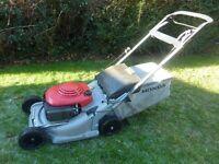 Honda 475 self propelled petrol mower around £800+ new