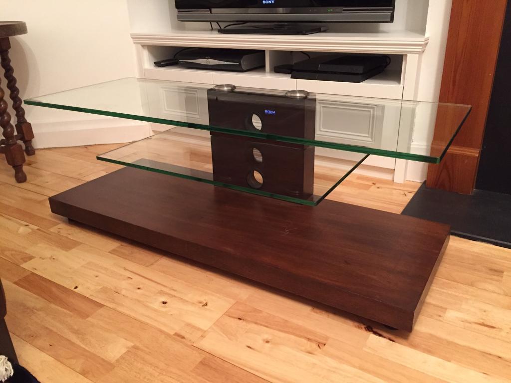 Bespoke wooden TV stand