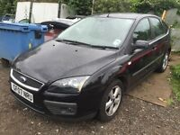 Ford Focus black 2007 breaking for parts / spares - all parts available