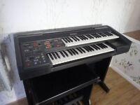 electric organ.technics SxEX10L .