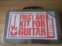 First Aid Kit For Guitar - 2x Cables, Pitch Tuner, picks + Killer Riffs