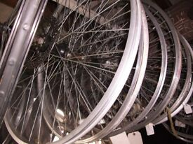 WHEELS, TYRES, TUBES, QUICK / RELEASES, ( CLEARANCE).