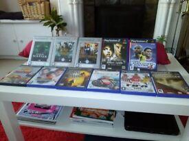 PS2 Games Mixed Bundle