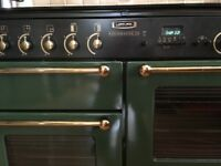 For sale Rangemaster 110 double oven gas Cooker with 4 burners, griddle & hotplate