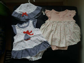 2 summer suits Size up to 3m