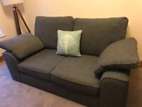 M&S 2-seater charcoal grey sofa