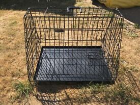 Dog car crate/ box
