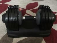 One Men's Health adjustable dumbbell 5-32.5kg
