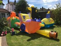 ELC adventure undersea. Inflates in just a few minutes for hours of play.