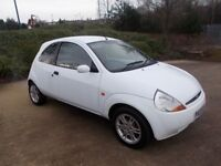 Ford Ka 1.3 Zetec 58000 very rare in coded White superb car