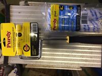 Purdy 4 inch paint roller and sleeves