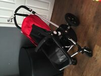 BUGABOO CAMELEON 3. Red Pack. Great Condition. Stroller & Carry Cot. COLLECTION ONLY