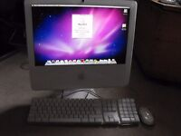 Apple Imac g5 all in one computer 17inch screen keyboard and mouse fully operational