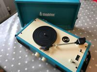 STEEPLETONE retro style record player