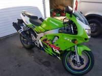 Kawasaki ninja zx6r low mileage long mot