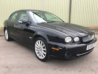 2008 58 JAGUAR X TYPE 2.0 D S 4 DR SALOON FACELIFT WITH CREAM LEATHER M.O.T NOV